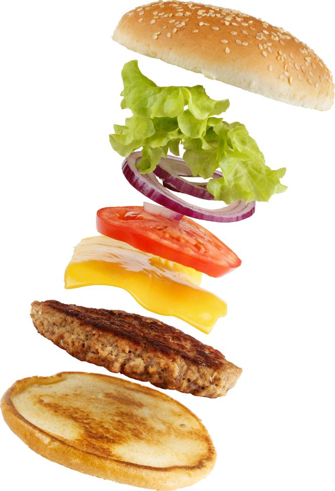 צור קשר - המבורגר