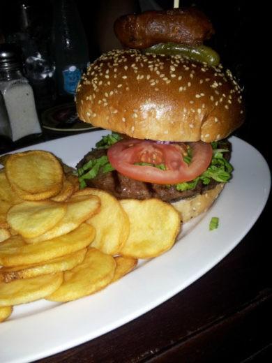 המבורגר וצ'יפס של מרפיס נתניה