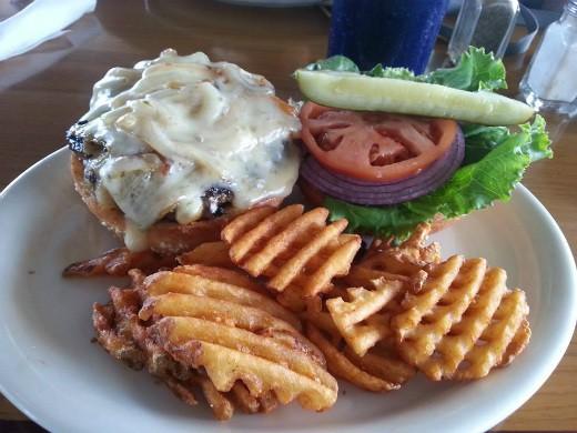 המבורגר של kona splashers - הוואי