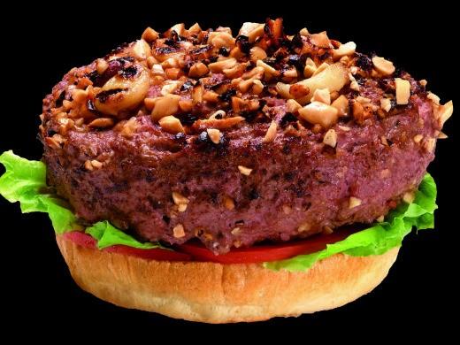 """המבורגר פיקנייה של בלאק, מקור: יח""""צ"""