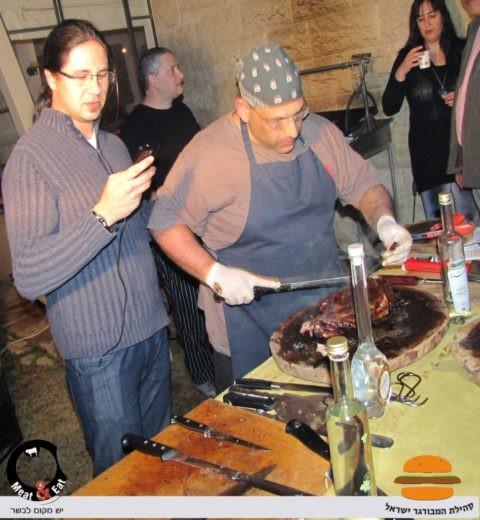 אלי גור - המאסטר של Meat & Eat