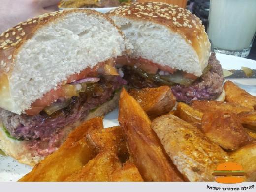 אסיה מוניקה - המבורגר מומלץ