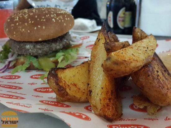 דלישס הנמל - המבורגר מומלץ