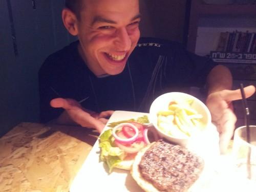 אור בלאן וההמבורגר של מיד-בר