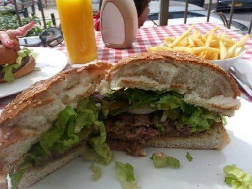 ההמבורגר של שושה שף בורגר