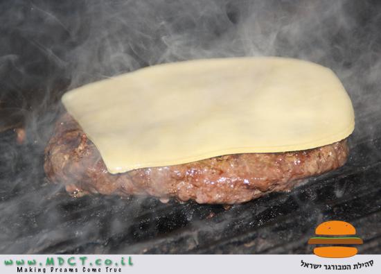 הצ'יזבורגר של רשת וולפנייטס
