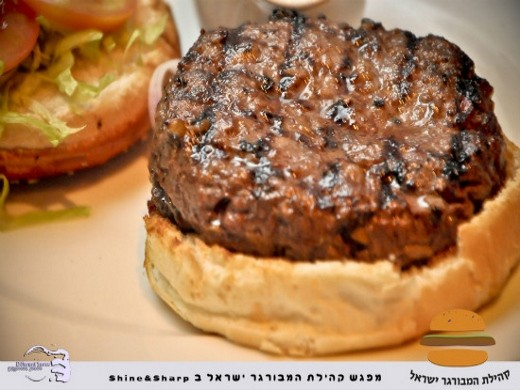 Shine&Sharp - המבורגר מומלץ בתל אביב