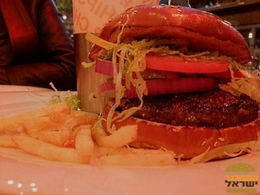 המבורגר קובה ביף של אגאדיר