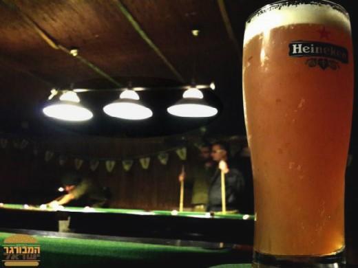 פאב גבולות - בירה של סוף יום