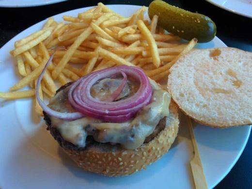 ההמבורגר המאכזב של מסעדת סזר