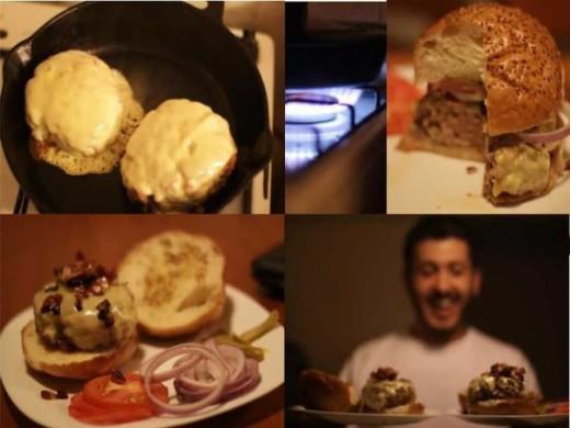 מתכון להמבורגר עם סו-ויד - הדור הבא של מיכאל סמטנוב