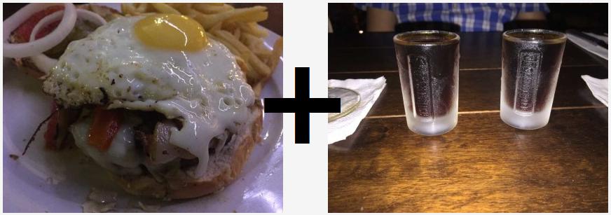 ייגר והמבורגר - שילוב מפתיע בסניף אגאדיר הרצליה