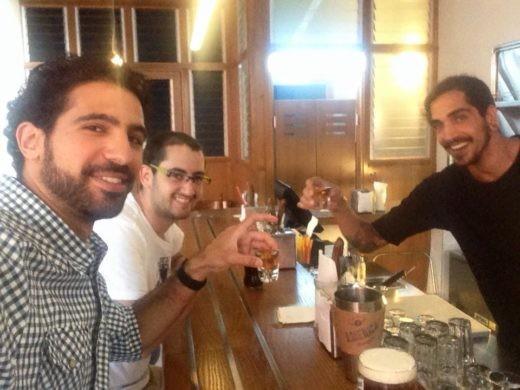 שותים ונהנים עם הברמן של אמריקה בורגרס