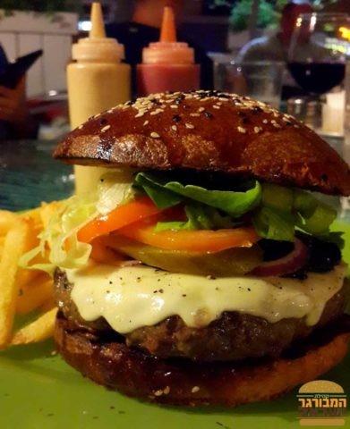 המבורגר עם לחמניית בריוש משגעת - ויסלה