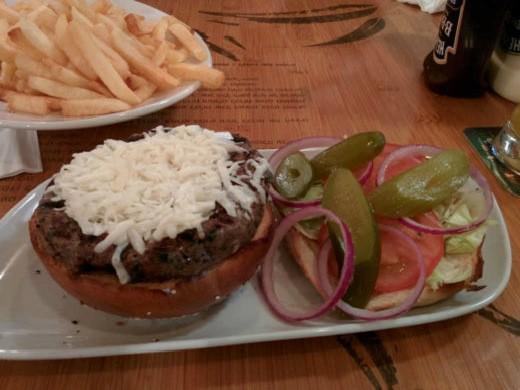 קליפטו - המבורגר אנטריקוט 270 גרם