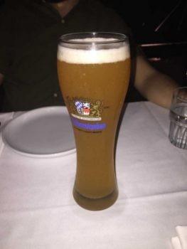 מסעדת האדסון בראסרי - בירה וינשטפן מהחבית