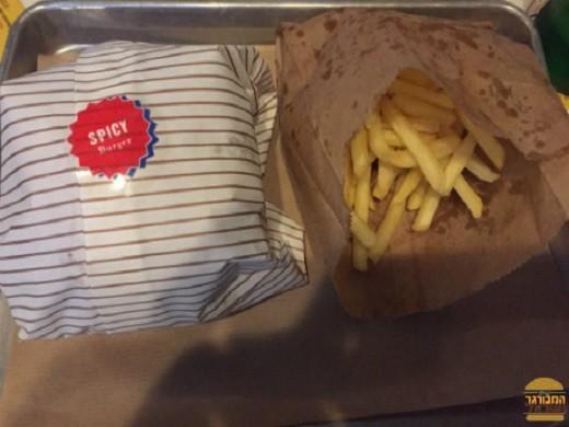 המבורגר חריף של אמריקה בורגרס