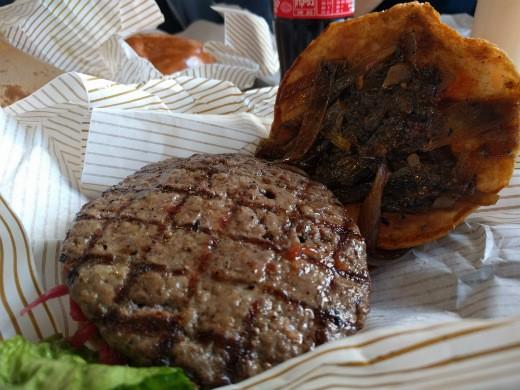 ההמבורגר המיוחד של אמריקה בורגרס