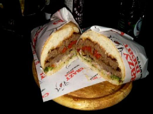 ההמבורגר של קרייזי מיט