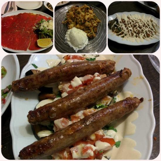 המנות הראשונות הנפלאות של מסעדת אנגוס בחיפה