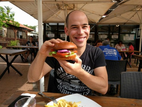 ההמבורגר של זיגל ואור בלאן