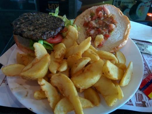 המבורגר רומני של רד בורגר איירפורט סיטי