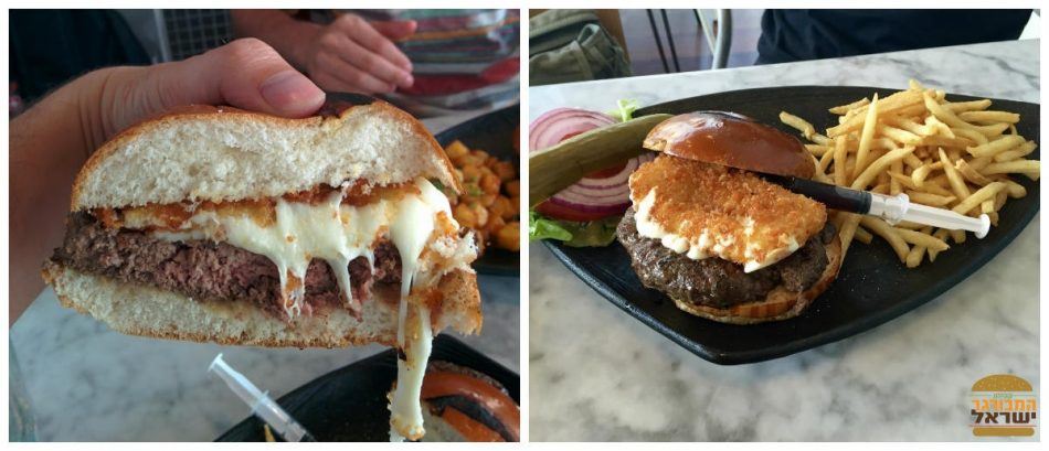 המבורגר מוצרלה גאוני - טרומן אנד קו