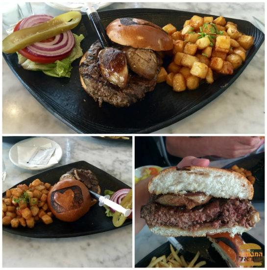המבורגר כבד אווז מושלם - טרומן אנד קו