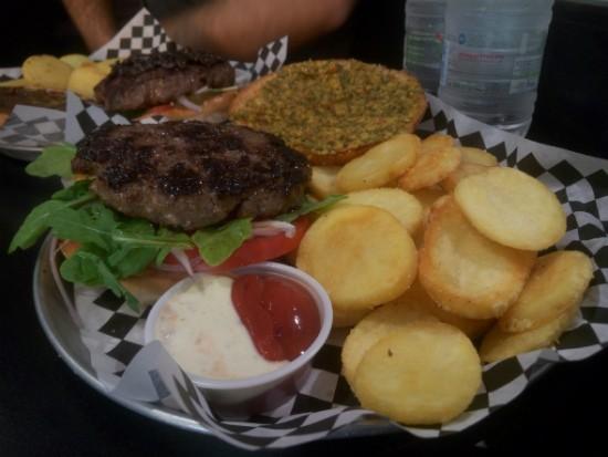 המבורגר ירושלמי של פורט 19