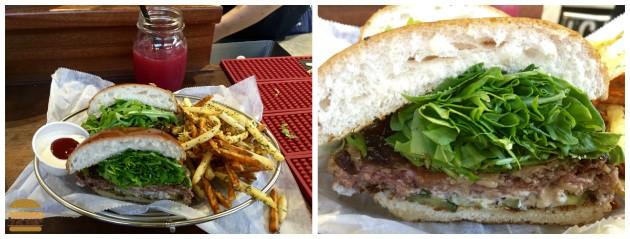 המבורגר Best Coast מפנק של ויטרינה לילי