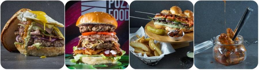 puzzle Food - המבורגרים חדשים ומעניינים