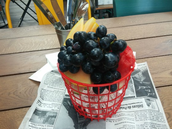 קינוח פירות - Puzzle Food