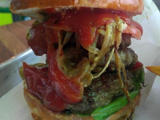 ההמבורגר של קפטן בורגר קריית אונו