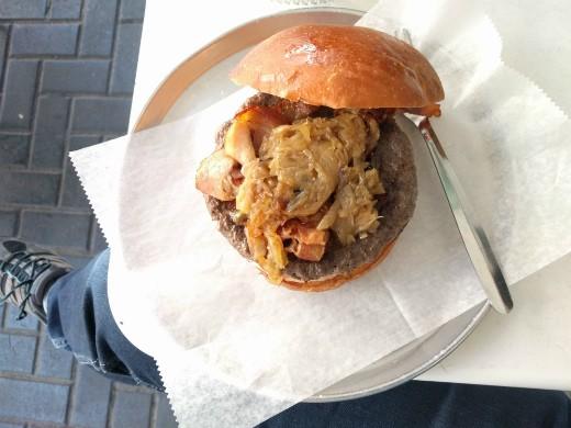 26 המבורגר גורמה - המבורגר בתל אביב