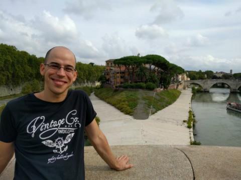 אור בלאן נהנה ברומא