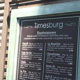 התפריט - Timesburg