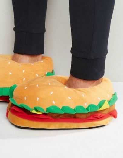 נעלי בית בצורת המבורגר של Asos!