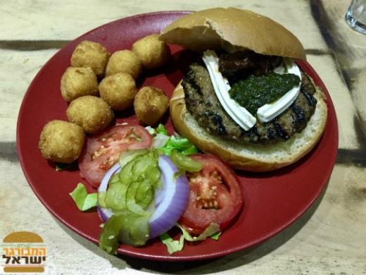 המבורגר פנצ׳ו וייה של מורדן בר
