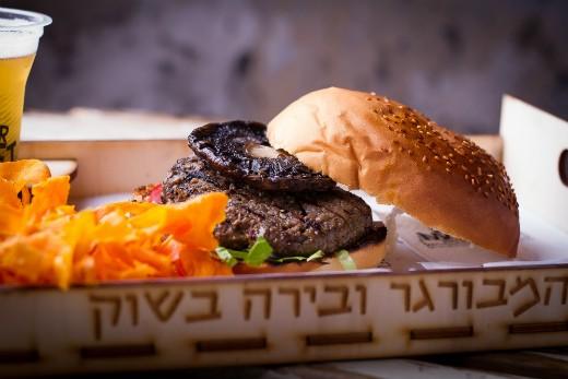 בורגר מרקט - המבורגר כשר ומומלץ