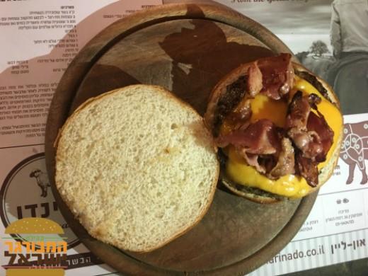 ההמבורגר של מרינדו שרונה מרקט