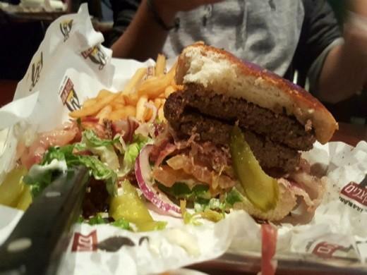 דוריס קצבים - המבורגר 400 גרם