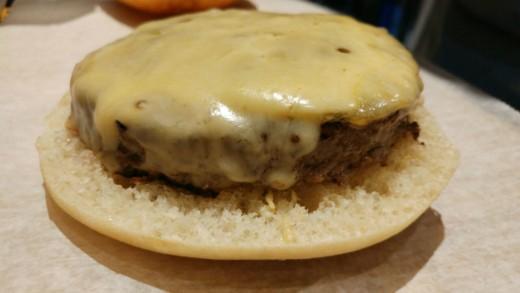 צ'יזבורגר עם גאודה של אל צ'יביטו