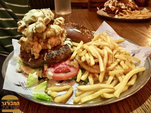 המבורגר איסטנבול של פפריקה - קבב משודרג