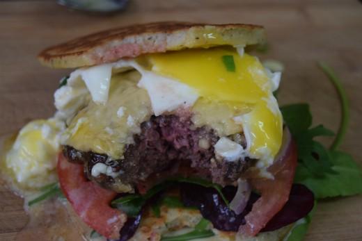 מתכון פורים - המבורגר בתחפושת