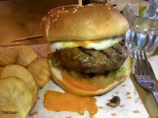גראונד קפה - המבורגר איכותיים במחיר הזוי