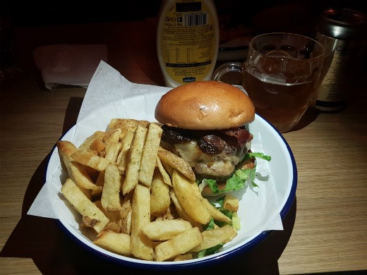 Honest Burgers - צ'יזבורגר מומלץ בלונדון