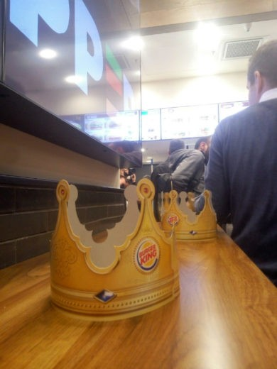 בורגר קינג - הכתר שאומר הכל