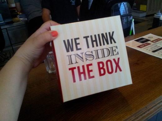 קופסת ההמבורגר של בטר בורגר