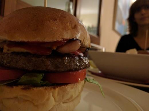 המבורגר של brillo burger