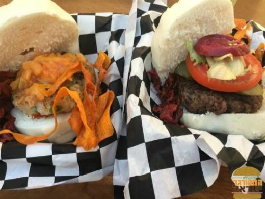 bun brothers במתחם Food Truck Disco